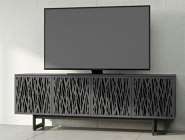 "BDI Elements ""Wheat""Media Cabinet, charcoal"