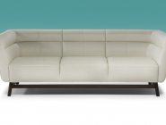 Natuzzi Ispirazione leather sofa