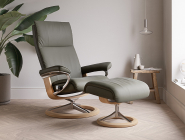 Stressless Aura Recliner, dark olive