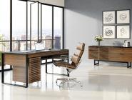 4 BDI Corridor Executive Desk Walnut fnl