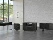 5 BDI Corridor Exec.Desk Charcoal fnl